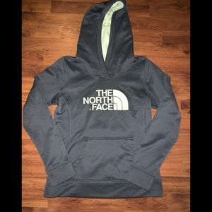 The northface hoodie for women